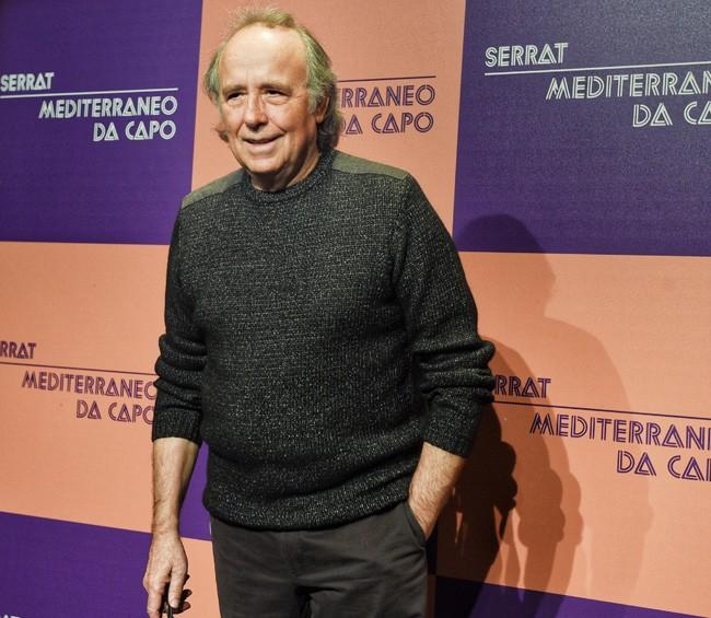 Joan Manuel Serrat desvela a quiénes echa de menos cuando está de gira