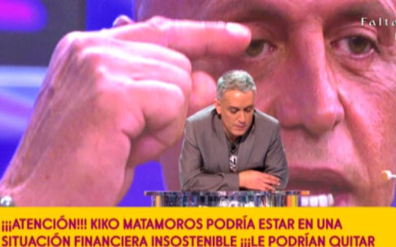 Kiko Hernandez ha comentado que Kiko Matamoros podría estar a punto de  perder su casa. b8c1d29783db0