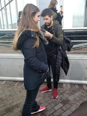 Pablo López y su novia, 'cazados' como dos turistas más por Nueva York