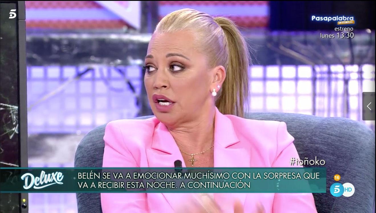 belen-esteban-recibio-una-llamada-de-su-novio-en-su-entrevista-en-television