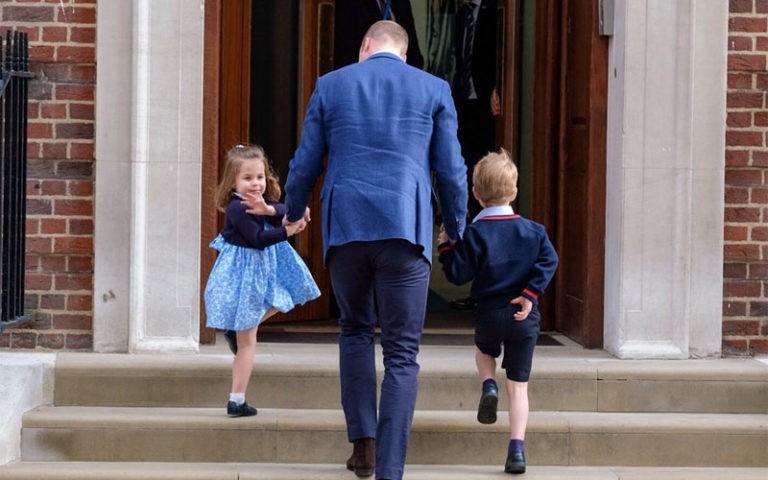 George y Charlotte ya conocen a su nuevo hermanito: la mejor visita a Kate Middleton