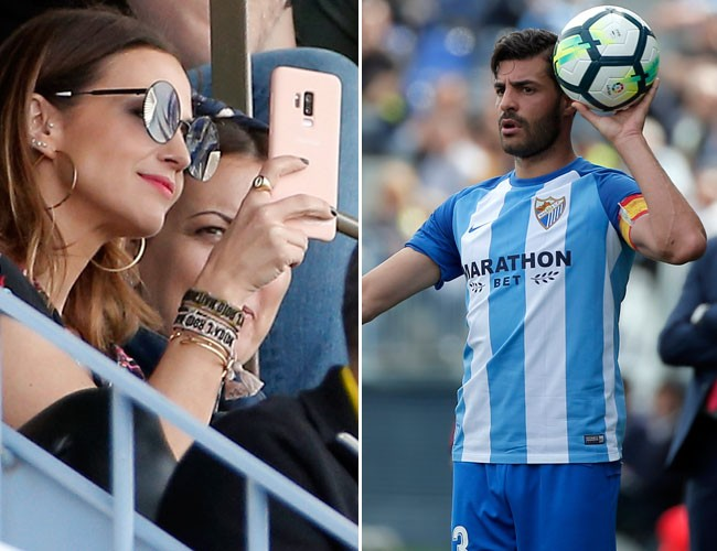 Paula Echevarría ya ejerce de WAG y acude a ver jugar a Miguel Torres por primera vez