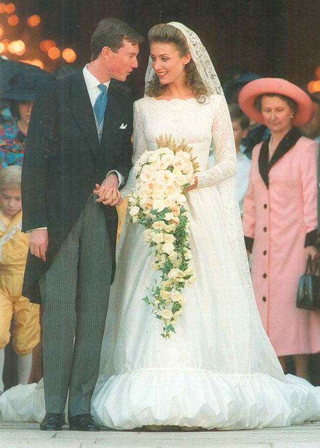 befe5fd9e Meghan Markle  Los diseñadores de los vestidos de novia reales