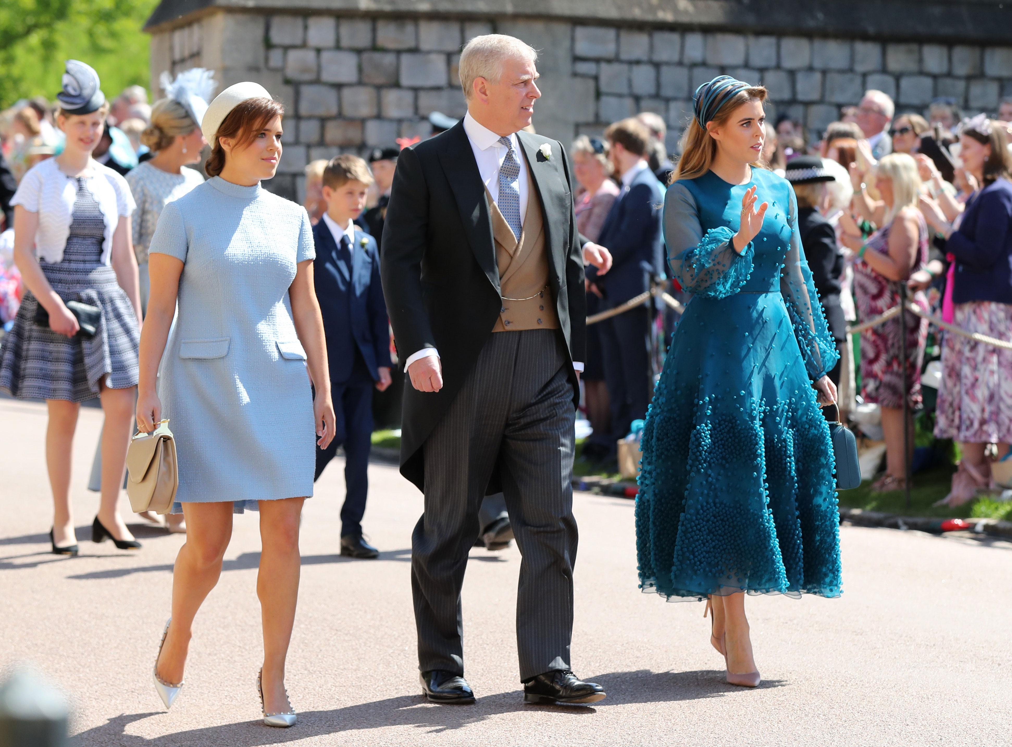 el-duque-de-york-con-sus-hijas