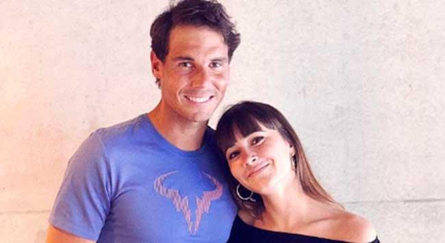 Aitana y Rafa Nadal
