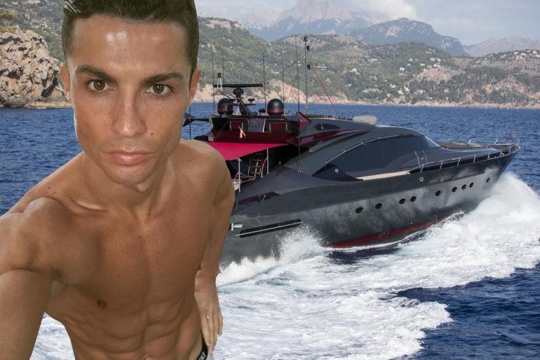 Así es el yate que Cristiano Ronaldo alquila a 90.000 euros la semana