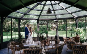 Entramos en la finca donde se casarán Diego Matamoros y Estela Grande