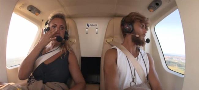 raquel-mosquera-y-sergio-carvajal-llegaron-en-helicoptero