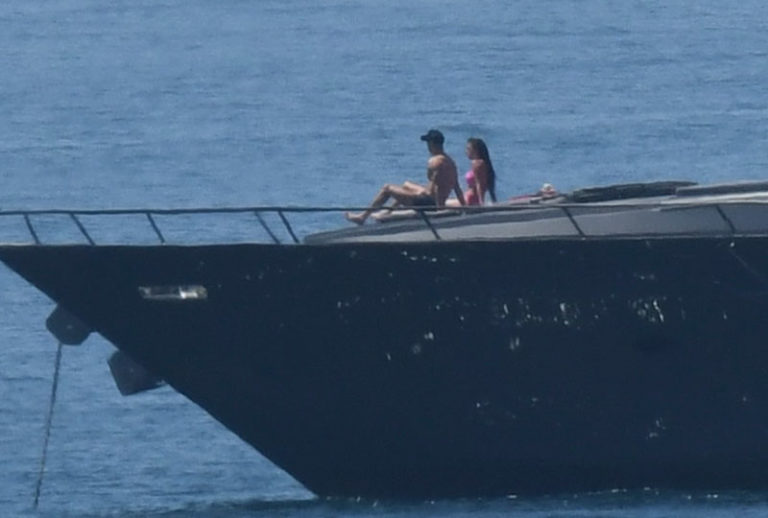Las vacaciones a todo lujo de Cristiano Ronaldo y Georgina Rodríguez