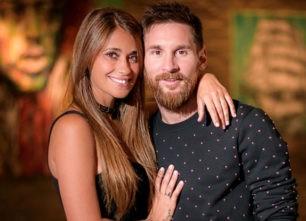 Así consuela Antonella Roccuzzo a Leo Messi en su peor Mundial