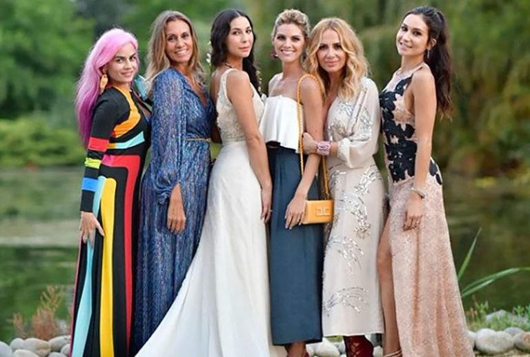La boda de la dj Katy Sainz que ha congregado a más famosos