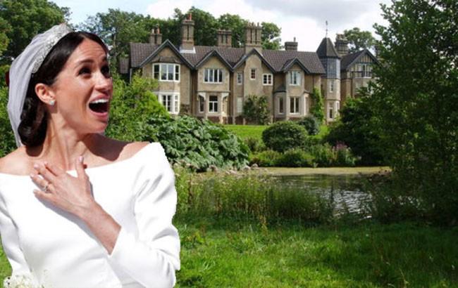 Un fantasma atemoriza a meghan y harry en su nueva casa for Casa de campo la reina