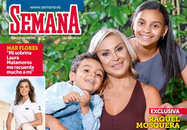 En SEMANA, Raquel Mosquera: «La vida me ha dado la oportunidad de volver a ser feliz»