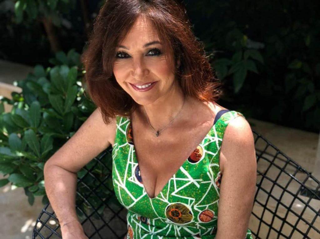 Ana Rosa Quintana: la foto que usa en su WhatsApp personal.