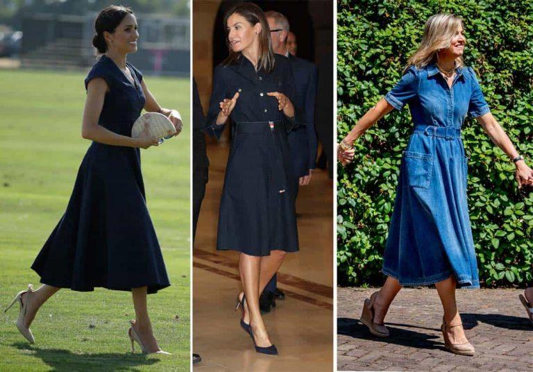 Las Royals se apuntan al vestido vaquero… Cópialos a muy buen precio
