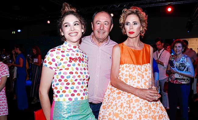 Ágatha Ruiz de la Prada, Cosima Ramírez , Luis Miguel Rodríguez