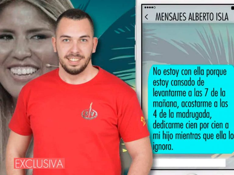 Demoledores mensajes de Alberto Isla contra Chabelita sobre su ruptura
