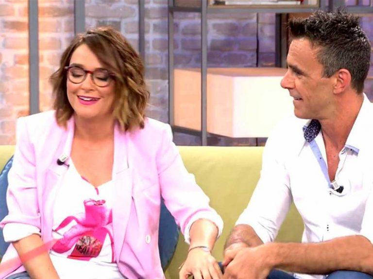 Alonso Caparrós le echa morro y le pide trabajo a Toñi Moreno en directo