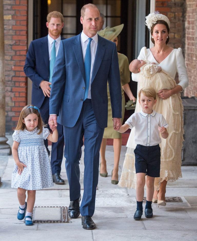 Todas las imágenes del bautizo del príncipe Louis, el tercer hijo de los duques de Cambridge