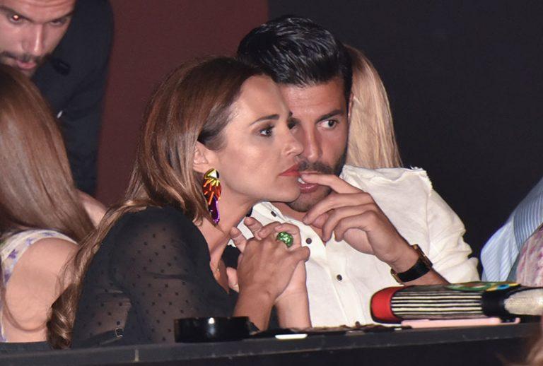 ¡Pillados! Paula Echevarría y Miguel Torres se comen a besos con la música de Luis Miguel