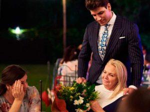 Diego Matamoros muestra a su madre y otras nuevas imágenes del día de su boda