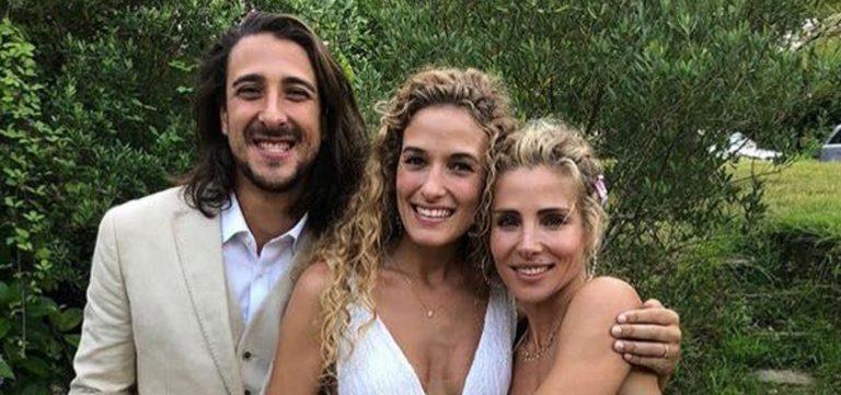 El look lencero de Elsa Pataky en la boda de su hermano