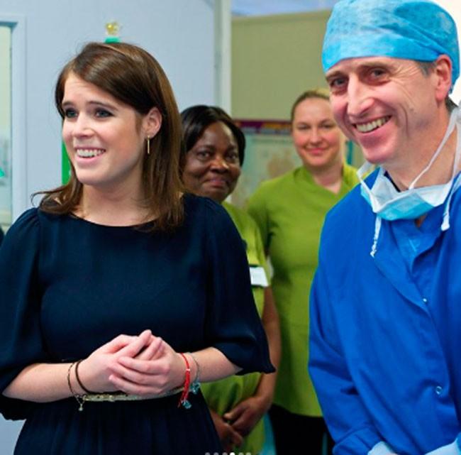 La hija de Sarah Ferguson, la princesa Eugenia, desvela la dolorosa enfermedad que padece