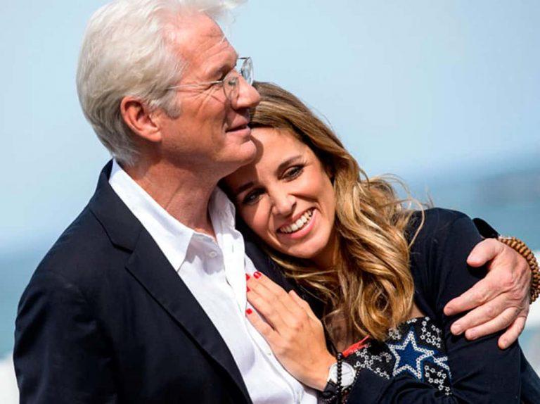 Richard Gere y Alejandra Silva, padres de su primer hijo en común