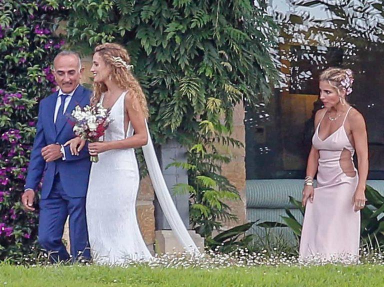 Se filtran las fotos del interior de la boda del hermano de Elsa Pataky