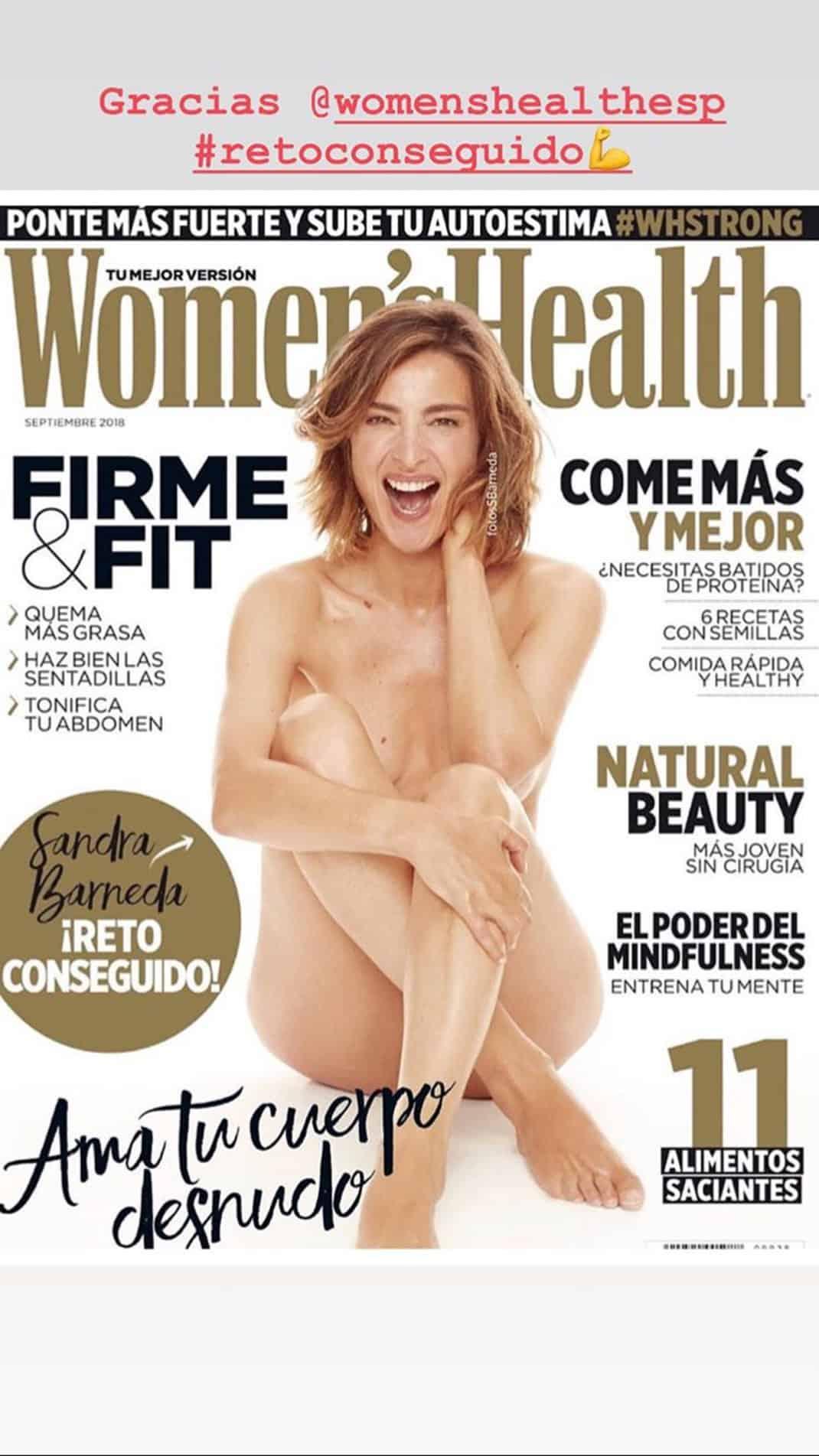 Sandra Barneda Se Desnuda En Instagram