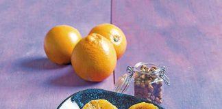 Naranjas-caramelizadas-con-crema-de-chufas