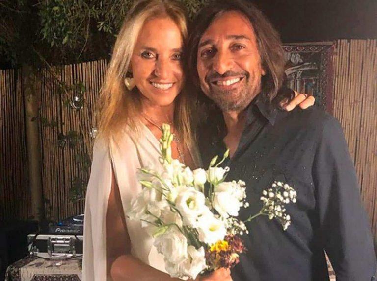 Antonio Carmona y Mariola Orellana celebran sus bodas de plata