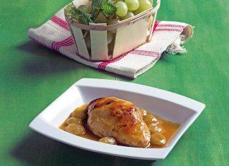 Pechugas-de-pollo-con-salsa-de-uvas