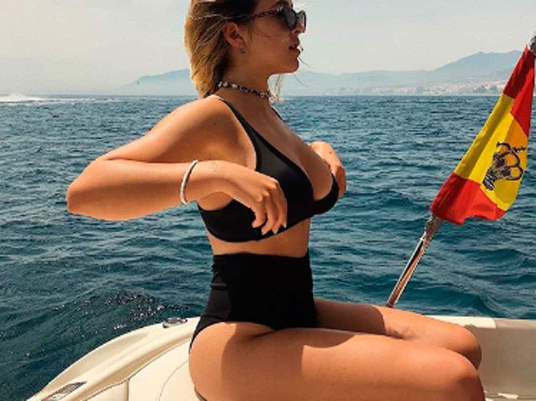Alba Díaz Lujo Vacaciones Y Diversión Tras Sus Prácticas De Verano