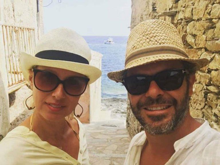 Las relajadas vacaciones de Anne Igartiburu con Pablo Heras-Casado
