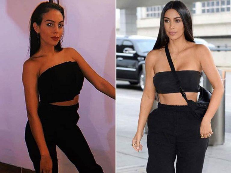 El extravagante estilo (a lo Kardashian) de Georgina Rodríguez