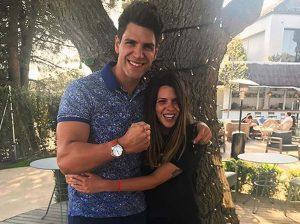 Diego y Laura Matamoros ven cumplido uno de sus deseos del pasado