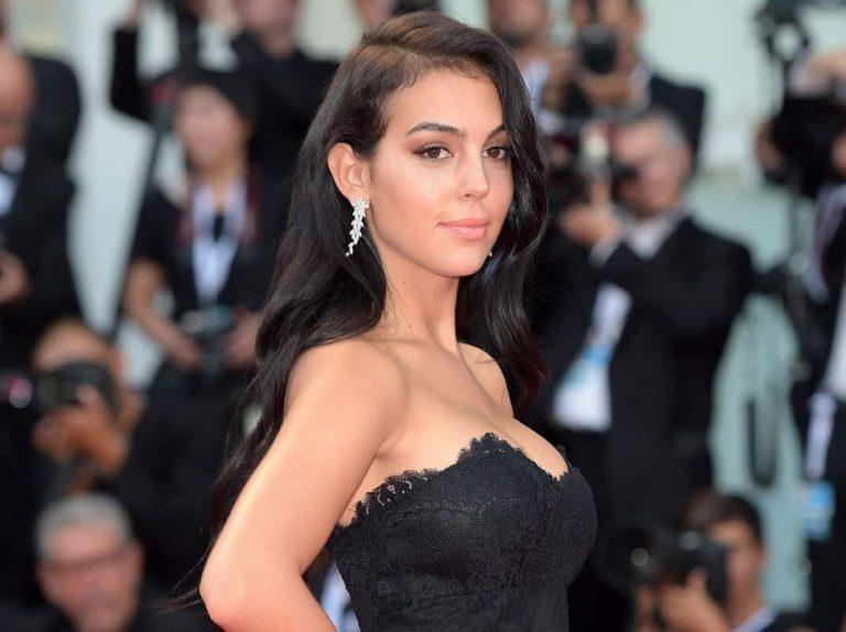 Georgina Rodríguez brilla en su debut en el Festival de Venecia