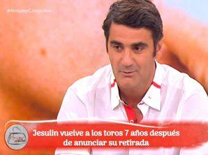 Jesulín de Ubrique recibió «un cheque en blanco» por participar en realities