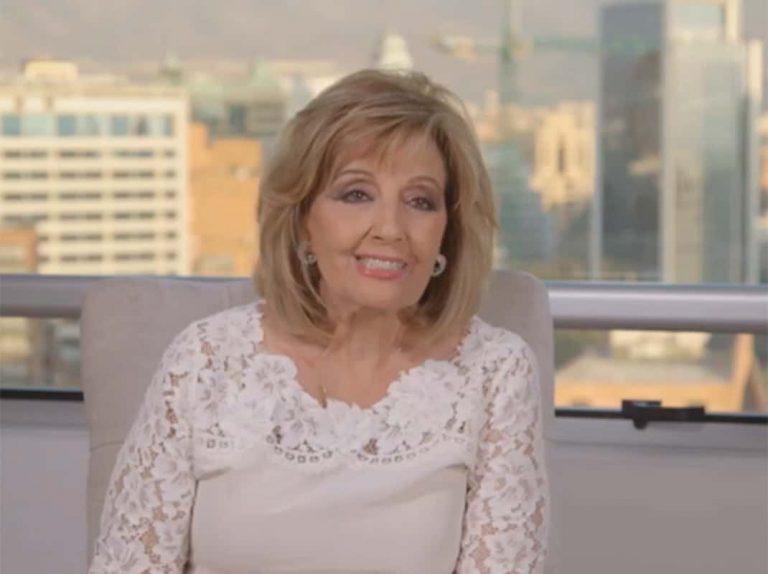 María Teresa Campos desvela las secuelas que le dejó el ictus