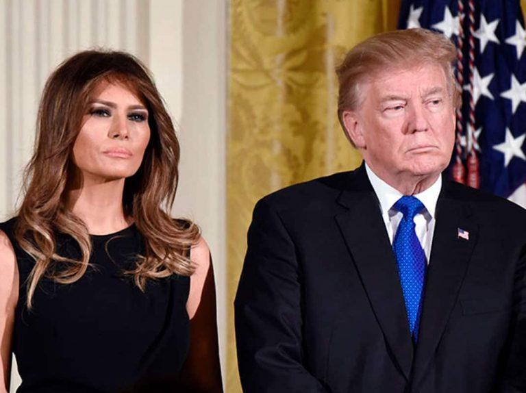 Melania querría acabar con su matrimonio con Donald Trump
