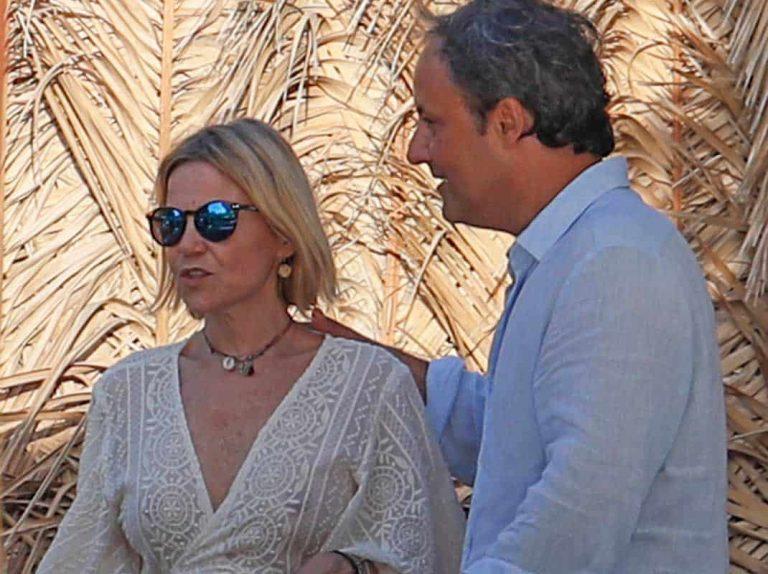 Eugenia Martínez de Irujo, Narcís Rebollo, Puyol y Vanesa Lorenzo despiden agosto en Ibiza
