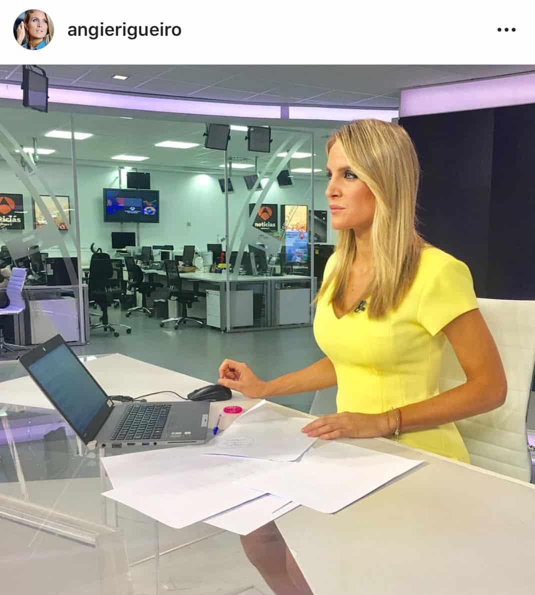 Angie Rigueiro La Presentadora De Televisión Que Triunfa En Instagram