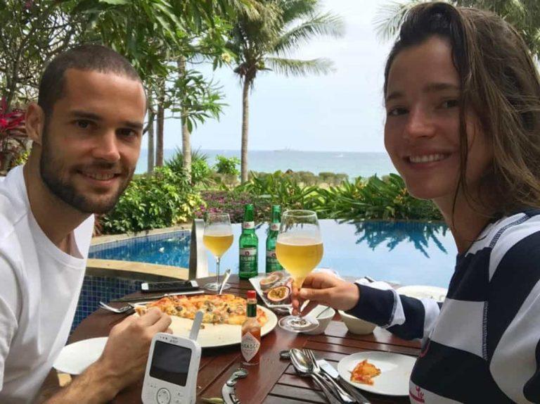 La discusión de Malena Costa y Mario Suárez por culpa de los móviles