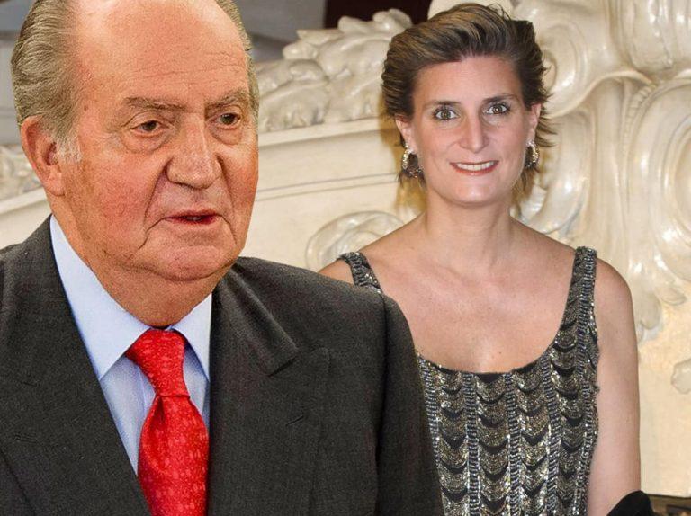 El Rey Juan Carlos y su miedo a ir al bautizo del hijo de María Zurita