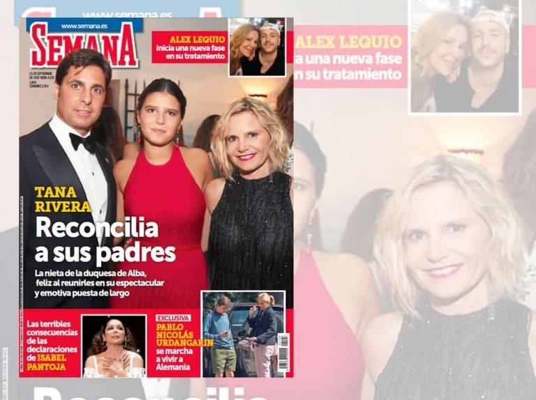 En tu revista, Tana Rivera reconcilia a sus padres, Fran Rivera y Eugenia Martínez de Irujo