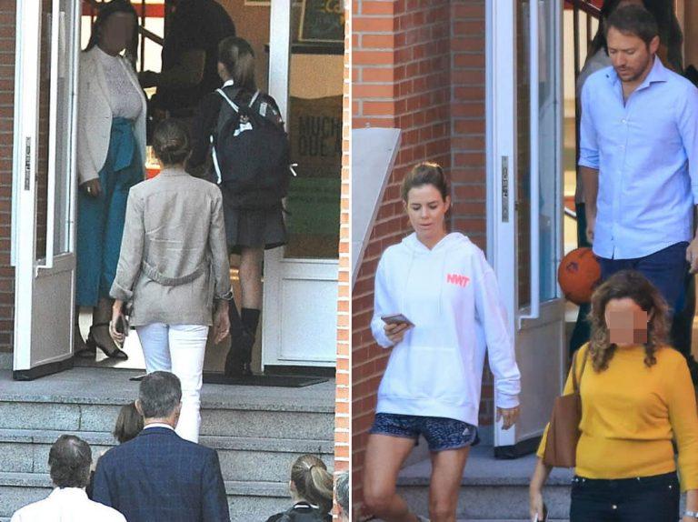 Amelia Bono y Manuel Martos: sus hijos están en el mismo colegio que Leonor y Sofía