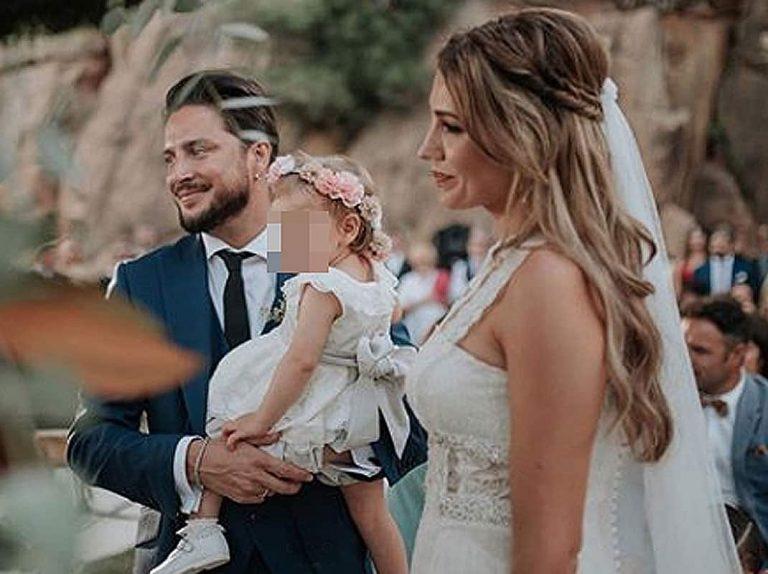 La hija de Manuel Carrasco y Almudena Navalón, protagonista de la boda de sus padres