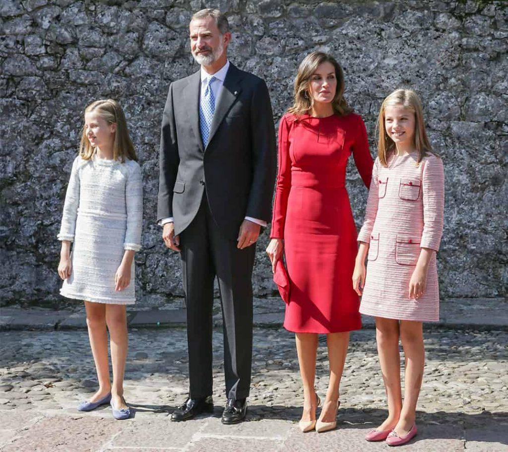 Unas celebraciones a las que ha querido sumarse la Familia Real española  con la asistencia de los Reyes de España 4f08567f4657