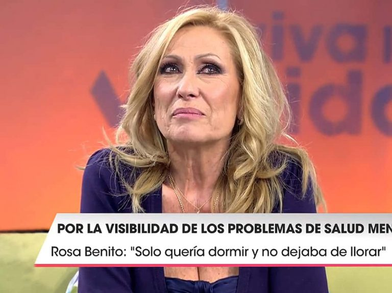 Rosa Benito habla por primera vez de la depresión que sufrió